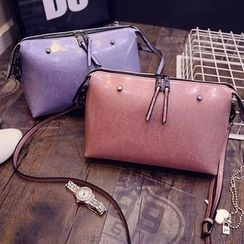 Secret Garden - Faux-Leather Cross Bag