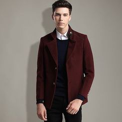 Red Forest - Button Coat