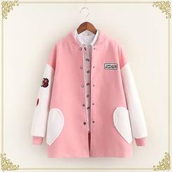 Fairyland - Woolen Baseball Jacket