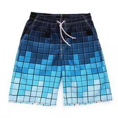 Mermaid's Tale - Print Swim Shorts