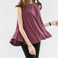 PEPER - Sleeveless Plain Top