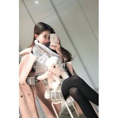 ATTYSTORY - Faux-Shearling Coat
