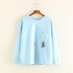 Mushi - Tasseled Pullover