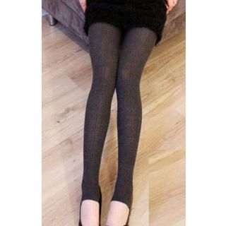 Ando Store - Cable-Knit Tights