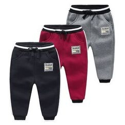 貝殼童裝 - 小童貼布繡運動褲