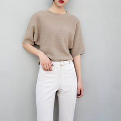 TAILO - Short-Sleeve Knit Top