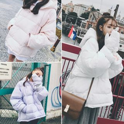 Moon City - Hooded Padded Jacket