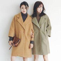 Woodie - Mohair Lapel Coat
