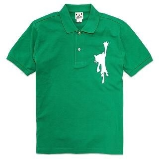 SCOPY - [Unisex] Short-Sleeve Polo Shirt - HANGING CAT
