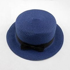 Hats 'n' Tales - Bow Straw Hat