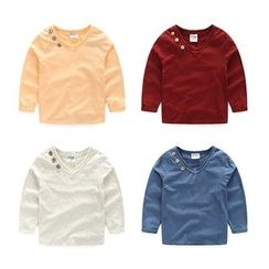 WellKids - Kids Long-Sleeve Buttoned Top