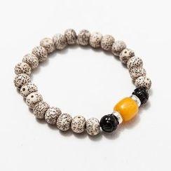 Ashen - Prayer Bead Bracelet