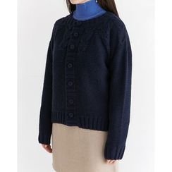 Someday, if - Wool Blend Chunky-Knit Cardigan