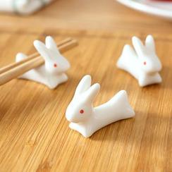 Lazy Corner - Rabbit Ceramic Chopsticks Rest