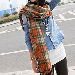 Rita Zita - 格纹厚围巾