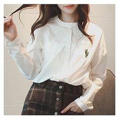 微米家 - 刺绣衬衫
