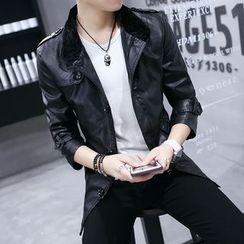 Best Gang - Faux-Leather Jacket