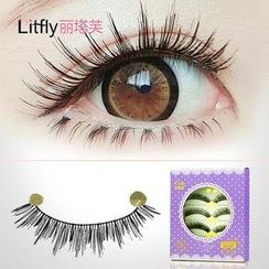 Litfly - Eyelash#162 (5 pairs)