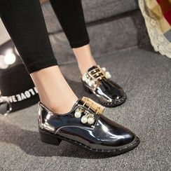 BAYO - Faux Pearl Loafers