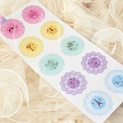 YUNO - Printed Sealing Stickers 10pcs