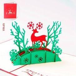 ByHeart - 麋鹿3D贺卡