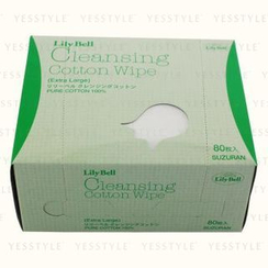 Suzuran - Lily Bell Cleansing Cotton Wipe (Extra Large)