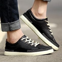 Preppy Boys - Paneled Sneakers