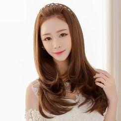 SEVENQ - Long Half Wig - Wavy