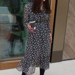 Romantica - Printed Midi Dress