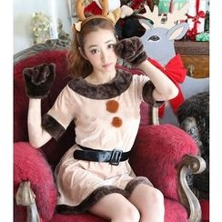 Cosgirl - Christmas Reindeer Party Costume