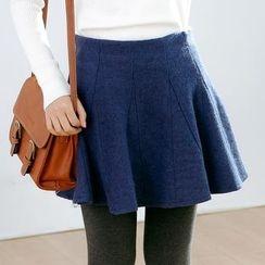 Forest Girl - Plain A-Line Skirt
