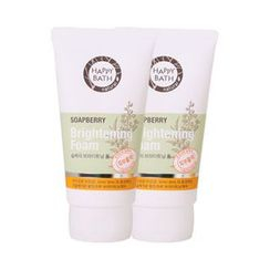 HAPPY BATH - Soapberry Brightening Foam 150g x 2pcs