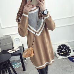 FR - Loose-Fit Long Sweater