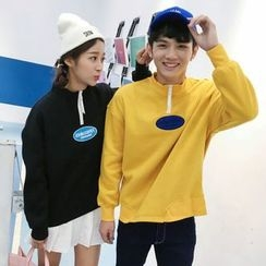 Tabula Rasa - Couple Matching Mock-neck Sweatshirt