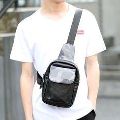 BagBuzz - Camo Panel Sling Bag