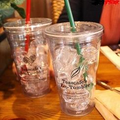 Full House - Clear Tumbler (2 Lids)