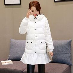 Romantica - Padded Ruffle Coat