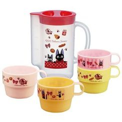Skater - Kiki's Delivery Service Stacking Cups 4 Pieces Set with Case