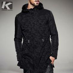 Quincy King - Camo Hooded Jacket