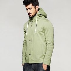 Quincy King - Hooded Plain Jacket