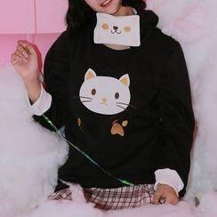 Moricode - Cat Hoodie