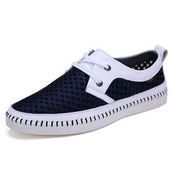 NOVO - Perforated Boat Shoes
