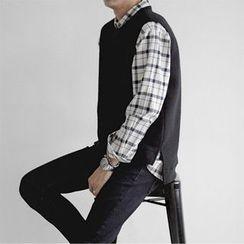Seoul Homme - Knit Vest