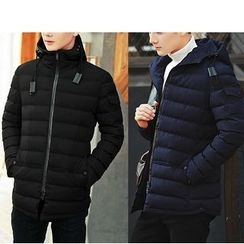 Bay Go Mall - Hooded Padded Coat