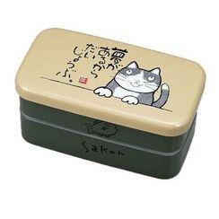 Miyamoto Sangyo - Okamoto Hajime Rectangular 2 Layers Lunch Box Sakon