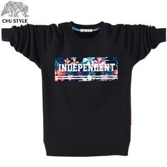 CHU STYLE - Print Sweatshirt