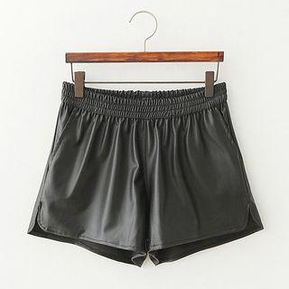 ninna nanna - Faux Leather Shorts