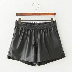 ninna nanna - Faux Leather Shorts