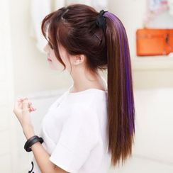 LUMAN - Ponytail Extension - Highlighted Straight
