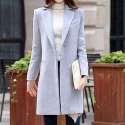 Donnae - 羊毛開領大衣